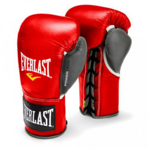 Перчатки боевые Everlast Powerlock, 10 oz Everlast