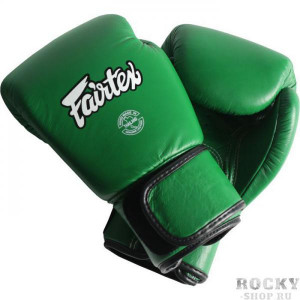 Боксерские перчатки Fairtex BGV16 Forest Green , 16 OZ Fairtex