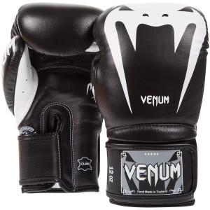Перчатки боксерские Venum Giant 3.0 Black Nappa Leather, 10 унций Venum